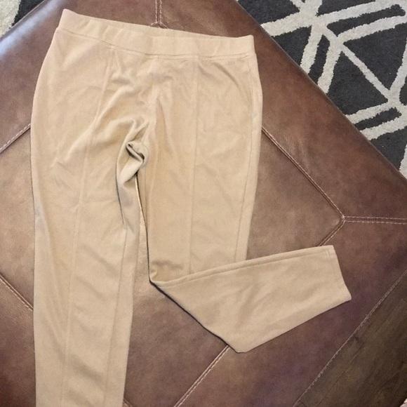 568ad9549e188b HUE Pants | Tan Caramel Colored Jeggings Leggings | Poshmark